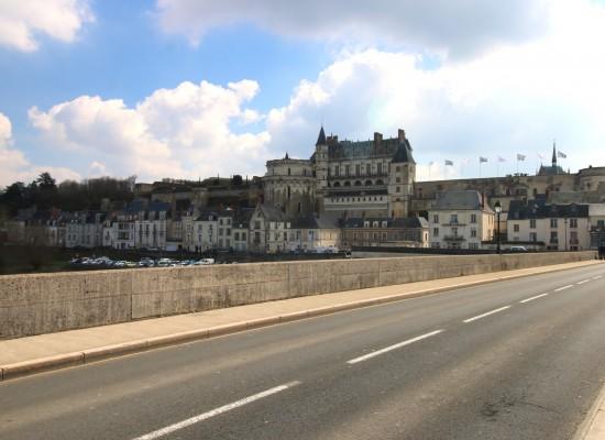 Château d'Amboise vu du pont